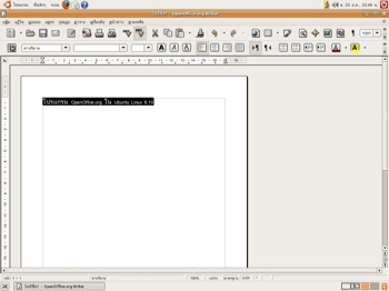 ubuntu and openoffice