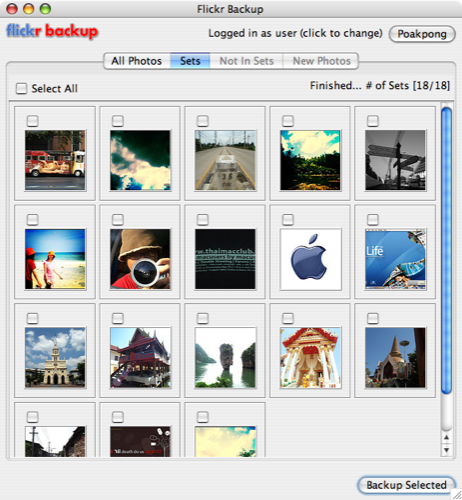flickr backup