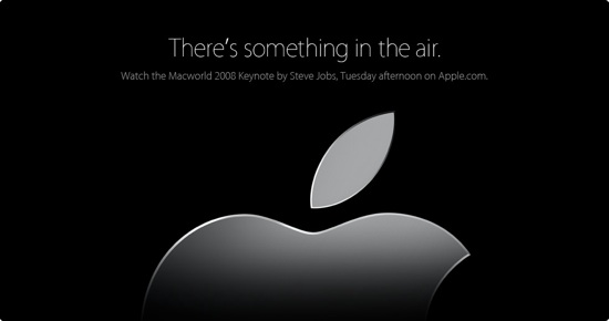 There is something in the air.