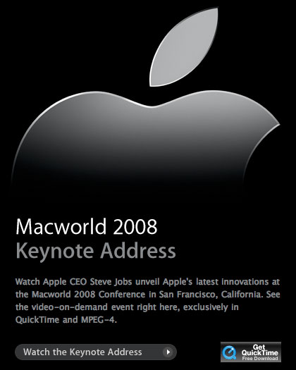 mwsf2008 keynote