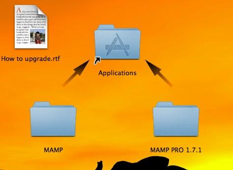 MAMP installation